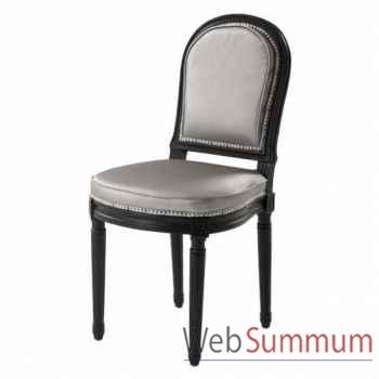 Eichholtz chaise princess victoria platine -chr06405