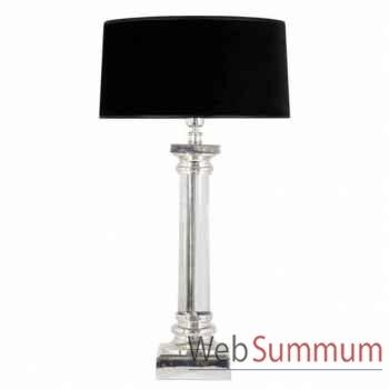 Eichholtz lampe metropolis swarovski nickel -lig06062