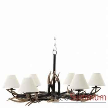 Eichholtz chandelier lodge 6 lumières  -lig06089