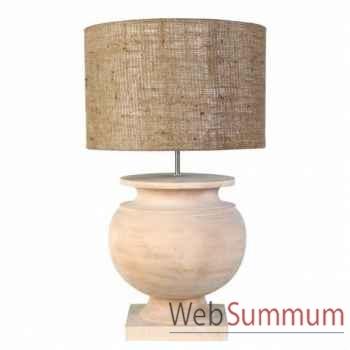 Eichholtz lampe templeton moyenne bois -lig06094