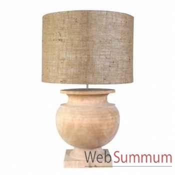 Eichholtz lampe templeton grande bois -lig06096