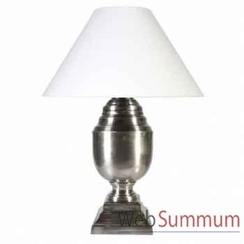 Eichholtz lampe trophy xl argent terni -lig06396