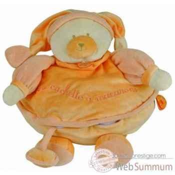 Douceur macaron - géant mandarine doudou et compagnie -dc2144