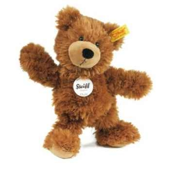 Peluche steiff ours teddy-pantin charly, brun -012891
