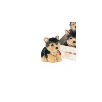Peluche chien Yorkshire Terriers 15 cm Hermann 92715