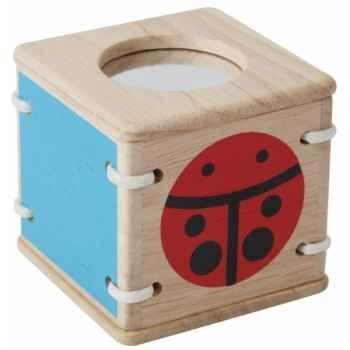 Jouet en bois  Hochet sensoriel coccinelle Plan Toys 5234
