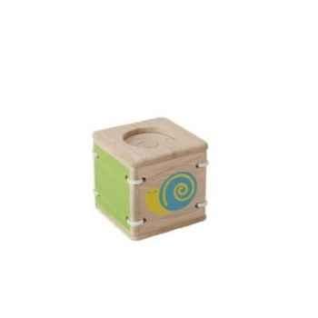 Jouet en bois  Hochet sensoriel escargot Plan Toys 5236