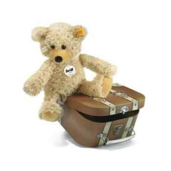 Ours teddy-pantin charly dans sa valise STEIFF -12938