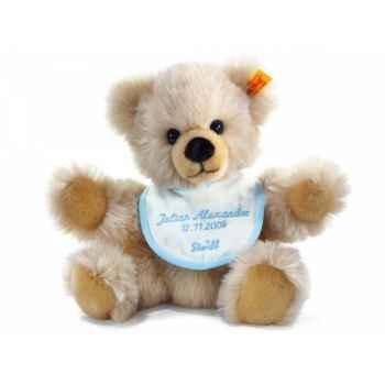 Ours teddy naissance, crème STEIFF -14208