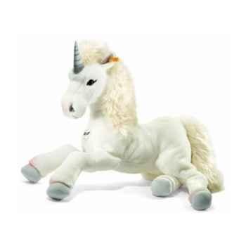 Licorne-pantin starly, blanche STEIFF -15090