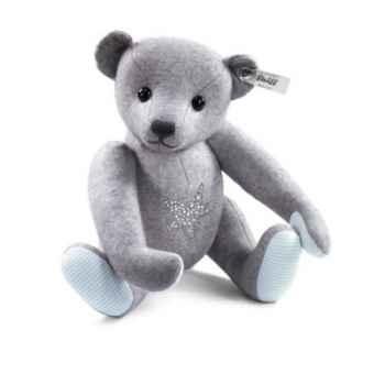 Ours teddy en feutre gris avec astérie STEIFF -35517
