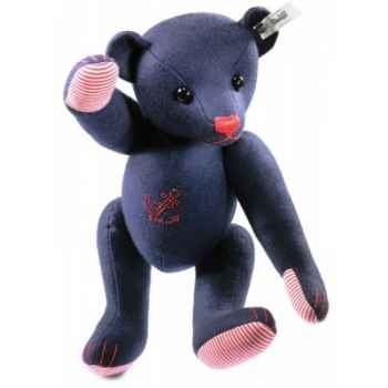 Ours teddy 32 blue avec ancre STEIFF -35630