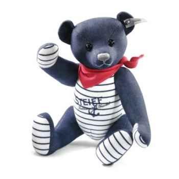 Ours teddy en jean 32  bleu STEIFF -35661