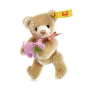 Ours teddy miniature porte-bonheur, beig STEIFF -39836