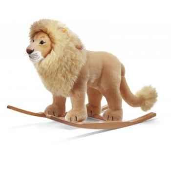 Lion à bascule leo, blond doré STEIFF -48982
