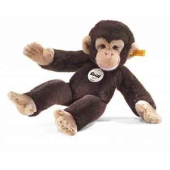 Chimpanzé koko, brun foncé STEIFF -64722
