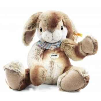 Lapin-pantin hoppi, beige/brun STEIFF -122620