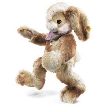 Lapin-pantin hoppi, beige/brun STEIFF -122637