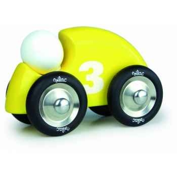 Auto anniversaire jaune vilac -2235Y