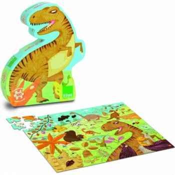 Puzzle dinosaures (100 pcs) vilac -2611