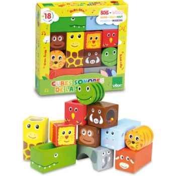 Cubes sonores animaux de la savane vilac -2101