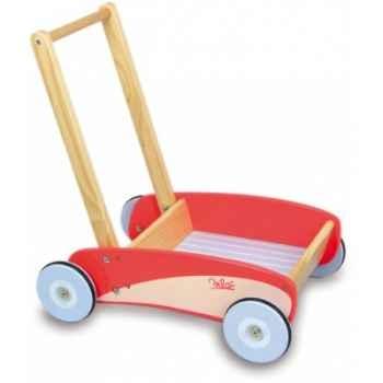Chariot de marche rouge vilac -1000