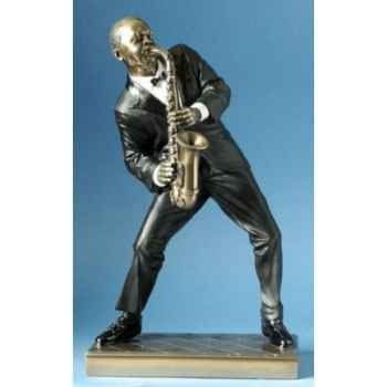 Musicien jazz alto saxo veste rouge -WU76545