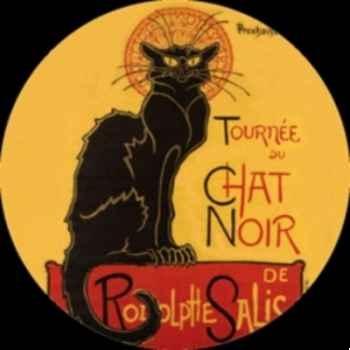 """Miroir steinlen \""""le chat noir\"""" g Parastone -M16ST"""