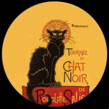 Presse Papier steinlen chat noir Parastone -PSTE1