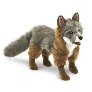Marionnette renard gris Folkmanis -3032
