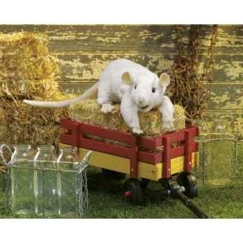 Marionnette rat blanc Folkmanis -3038