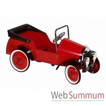 Voiture à pédale rouge-1935