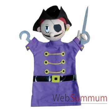 Marionnette à main Anima Scéna - Le pirate - environ 30 cm - 22064a