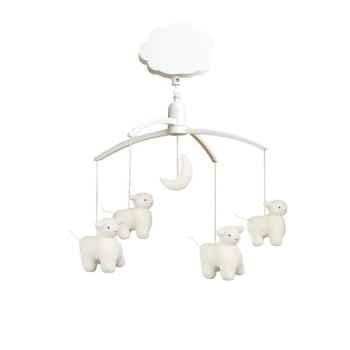 Mobile musical moutons + lune  Trousselier M1141