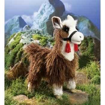 Marionnette Peluche Folkmanis Lama -2515