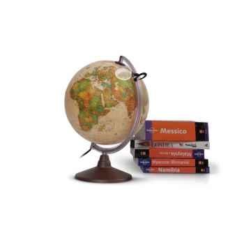 Globe lumineux marco polo 25 antique 25 cm (diamètre) Sicjeg
