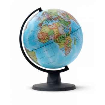 Globe non lumineux mini 16 politique mini cartographie politique 16 cm (diamètre) Sicjeg
