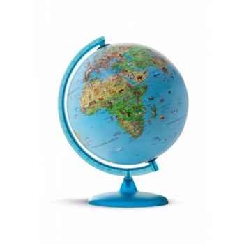 Globe lumineux safari 25 junior illustré 25 cm (diamètre) Sicjeg