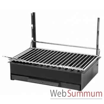 Barbecue original Vulcain 48x28 Le Marquier -GBC3653