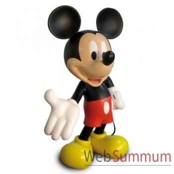 Figurine mickey echelle 1 monochrome or   Leblon-Delienne -DISST14501OR