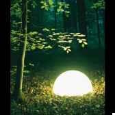 lampe ronde socle a visser blanche moonlight magr550015