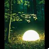 lampe ronde socle a visser never dark moonlight magnrn750015