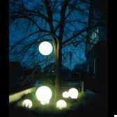 lampe ronde socle a enfouir blanche moonlight mbg250020