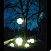 lampe ronde socle a enfouir blanche moonlight mbg350020