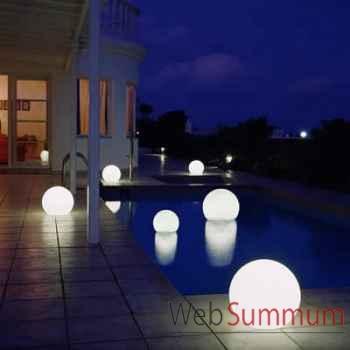 Lampe ronde blanche Moonlight -mfl550030