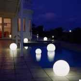 lampe ronde blanche moonlight mfl750030
