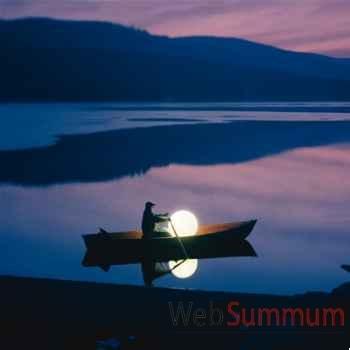 Lampe ronde blanche Moonlight -mflr250035