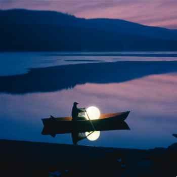 Lampe ronde Never Dark Moonlight -mflnrn550035
