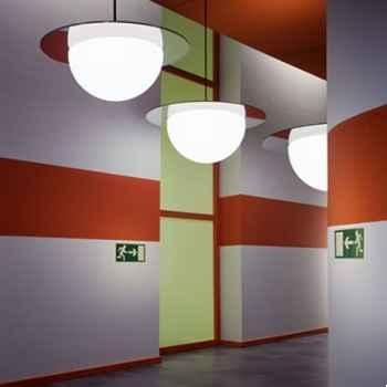 Lampe ronde à suspendre blanche Moonlight -mlh750110