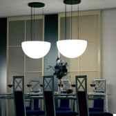 lampe ronde a suspendre never dark moonlight dlc550115